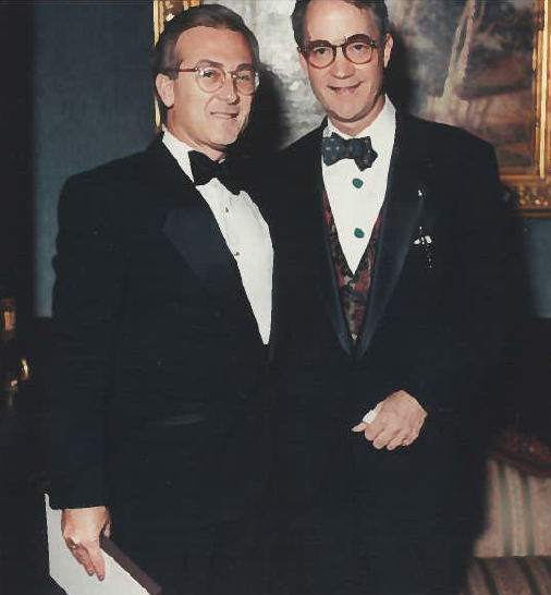 With O. Aldon James President The National Arts Club NYC 2007
