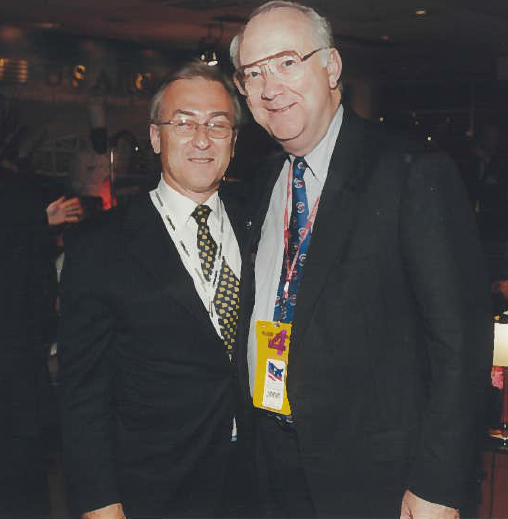 With US Senator Phil Gramm (R-Texas) Philadelphia, Pa. 2000