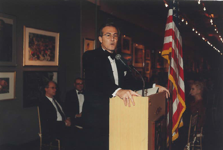 Addressing the NY Rotary Foundation Gala, NYC 2002
