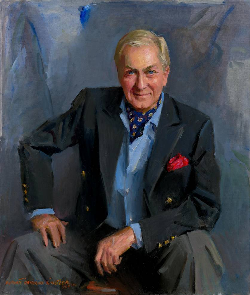 Portrait of Arcadio Casillas by Everett Raymond Kinstler for the National Arts Gallery, NY.
